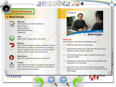 WAIS Online Training Screenshot